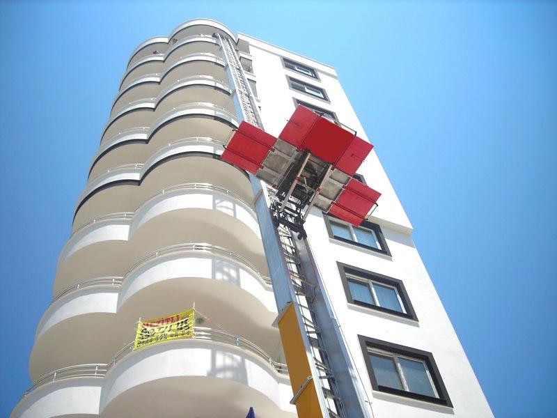 Asansörlü Ev Taşıma yüksek katlı binaya eşya taşınırken