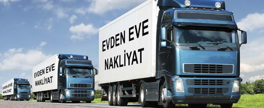 Kaynarca Evden Eve Nakliyat olarak yolda giden kamyonlar