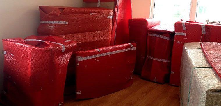 Kartal Evden Eve Nakliyat, paketleme işlemi uygulanmış eşyalar