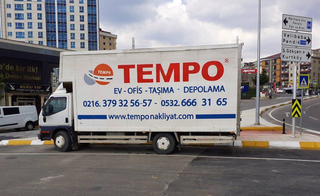 Pendik Nakliyat Firmaları Tempo Nakliyat kamyon görseli